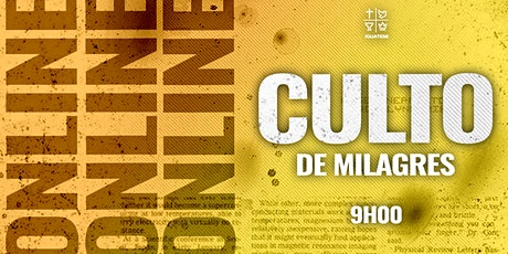 IEQ IGUATEMI - CULTO DE MILAGRES - QUA - 23/06 - 9H00 ingressos