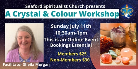 Crystals and Colour Workshop tickets