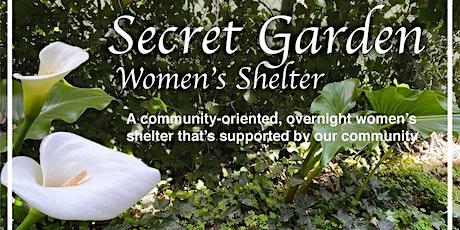 Secret  Garden Women's Shelter Summertime Salads Dinner tickets
