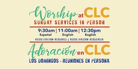 Sunday In Person Gathering | Reunión en Persona los Domingos boletos