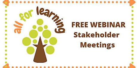 Parents - Stakeholder Meetings tickets
