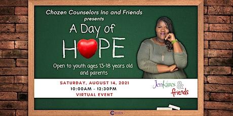 Chozen Counselors Inc & Friends: A Day of Hope tickets
