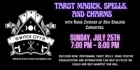 Tarot, Magick, Spells, and Charms tickets