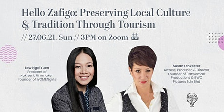 (Web Chat) Preserving Local Culture & Tradition Through Tourism tickets