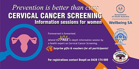 Cervical Cancer Screening Information Session tickets