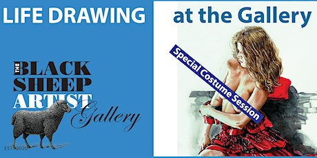 Wednesday Casual Life Drawing tickets