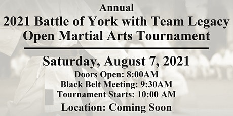 2021 Battle Of York With Team Legacy tickets