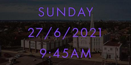Sunday MASS at 9:45AM -  Holy Cross 27/6/2021 tickets