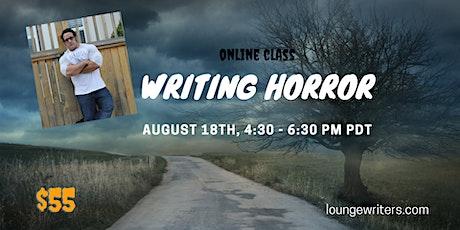 Writing Horror tickets