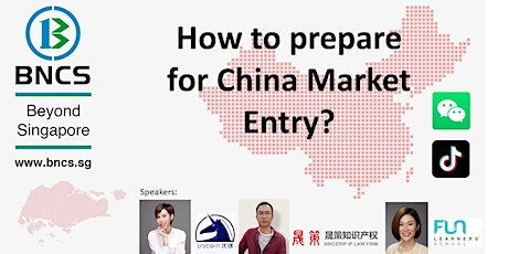 How to formulate your Market Readiness Plan for China? tickets