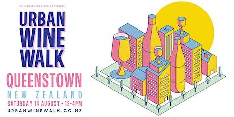 Urban Wine Walk Queenstown tickets