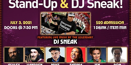 Majik Skool Bus Comedy Presents: Stand Up Comedy & DJ Sneak After Party tickets