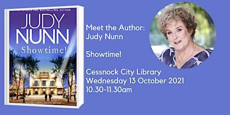 Meet the Author: Judy Nunn - Showtime! tickets