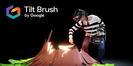 Children's Book Week - 'Tilt Brush' VR experience @ Girrawheen Library tickets