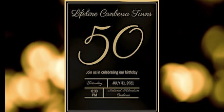 Lifeline Canberra Turns 50 - Cocktail Party tickets