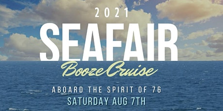 Seafair Booze Cruise 2021 - Saturday tickets