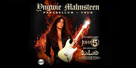 Yngwie Malmsteen with John 5 tickets