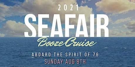 Seafair Booze Cruise 2021 - Sunday tickets