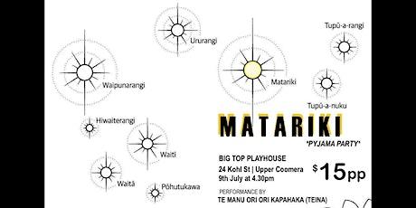 MATARIKI CELEBRATION (for Tamariki)at BIG TOP PLAYHOUSE tickets