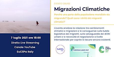 Migrazioni Climatiche biglietti