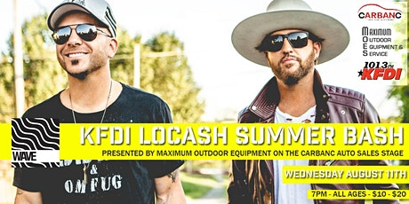 KFDI LOCASH SUMMER BASH tickets