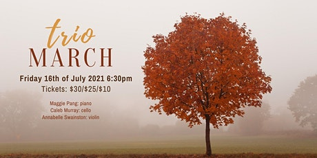 Trio March Debut Concert tickets