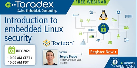 Webinar: Introduction to embedded Linux security tickets