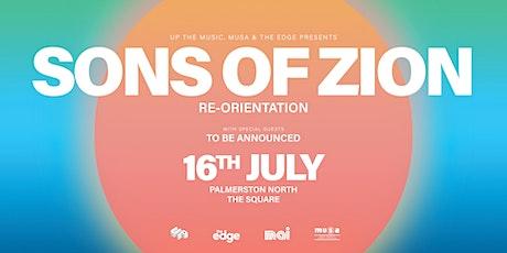 Sons of Zion | Palmerston North tickets