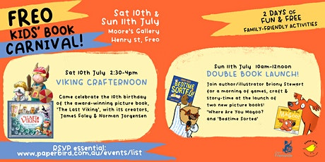 Freo Kids' Book Carnival: Viking Crafternoon tickets