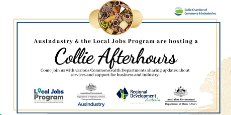 AusIndustry & the Local Jobs Program are hosting a Collie Afterhours tickets