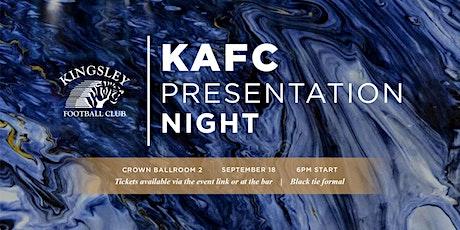 Kingsley FC Annual Presentation Night @ Crown tickets