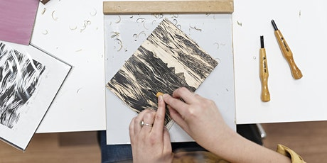 WORKSHOP   Intro to Woodcut Printing with Grey Hand Press tickets