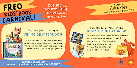 Freo Kids' Book Carnival: Double Book Launch tickets