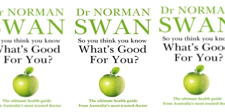In conversation with Norman Swan tickets