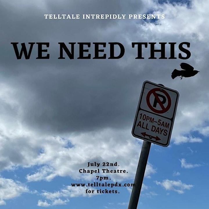 Telltale Presents: We Need This. image