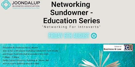 Networking Sundowner - Education Series tickets