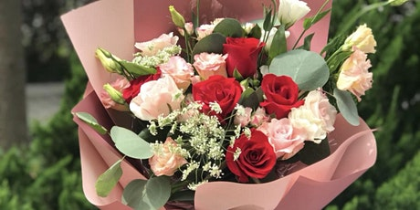 Fresh Flower Bouquet Arrangement Workshop tickets