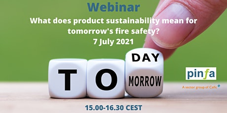 What does product sustainability mean for tomorrow's fire safety? tickets