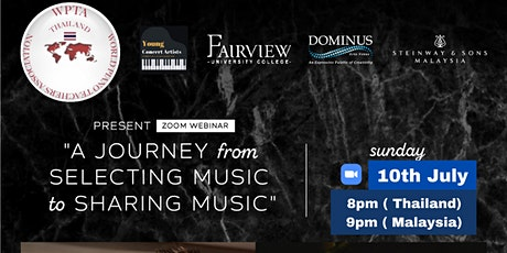 """Poom Prommachart Webinar """"A Journey from Selecting Music to Sharing Music"""" tickets"""