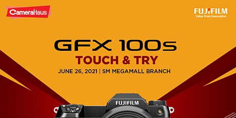 Fujifilm GFX Touch and Try tickets
