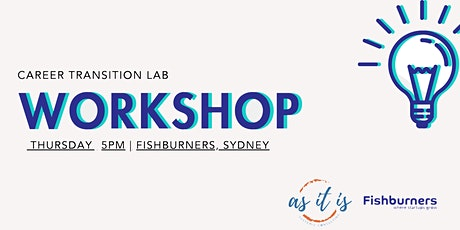 Career Transition Labs - Session 3 - Patterns tickets