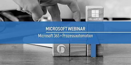 digital⁴ Webinar zum Thema Microsoft 365 und Prozessautomation Tickets