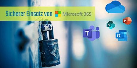 Sicherer Einsatz von Microsoft 365 – Webinar Tickets