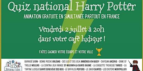 Quiz National Harry Potter billets