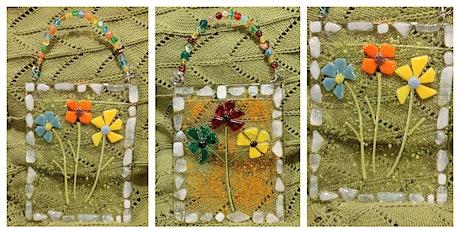 Beaded Glass Flower Suncatcher - Garden City tickets