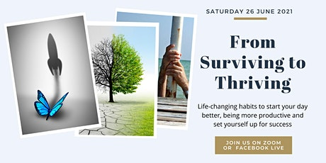 From Surviving to Thriving (Kindness Applied) ... Free Online Event tickets