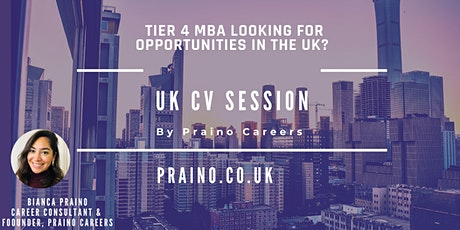 Job search advice for international MBAs tickets