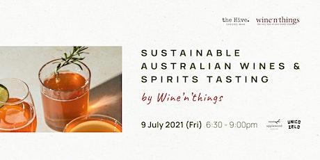Sustainable Australian Wines & Spirits Tasting tickets