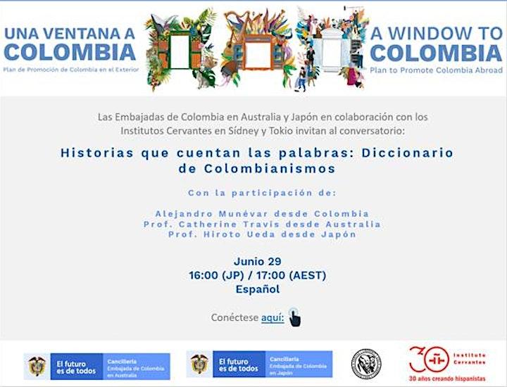 Presentación Diccionario de Colombianismos image