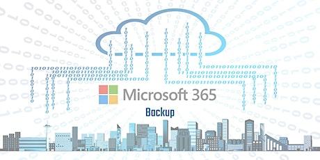Erfolgreiches Backup von Microsoft 365 – Webinar Tickets